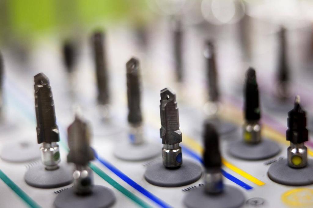 Implantologické nástroje